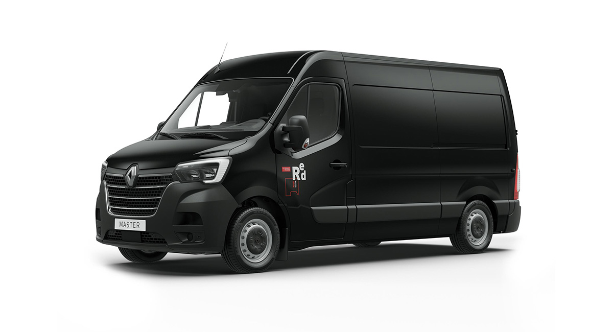 renault master red edition neues aussendesign