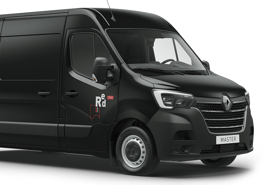 renault master red edition neues design